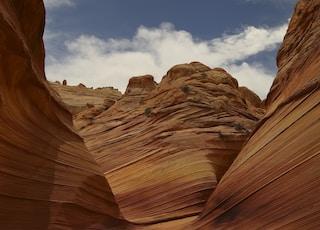 landscape shot of desert