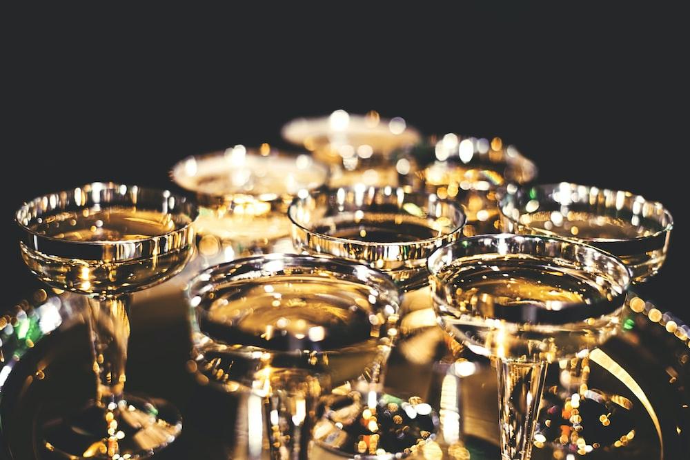 gold chalice set