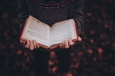 歩きながら読書する距離