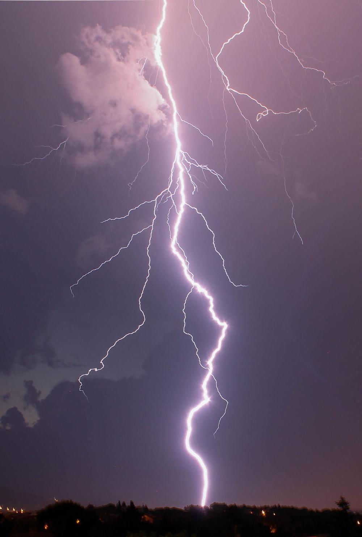 thunder through field