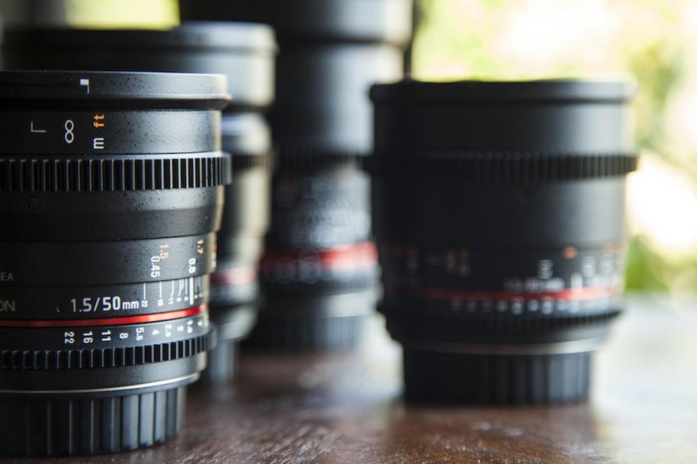 macro photography of telephoto lens