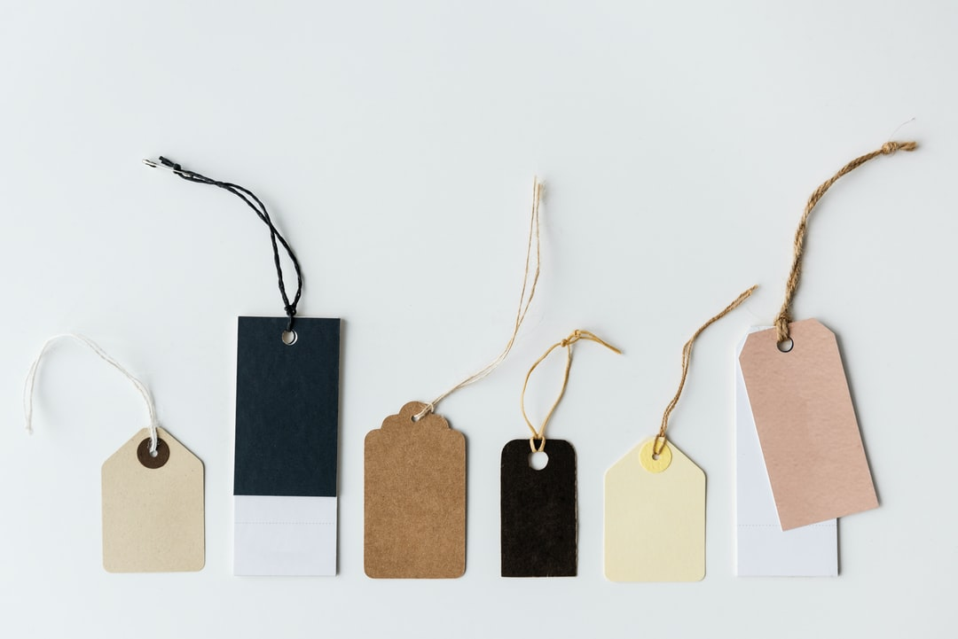 Assorted Color Tags for Conscious by Chloé