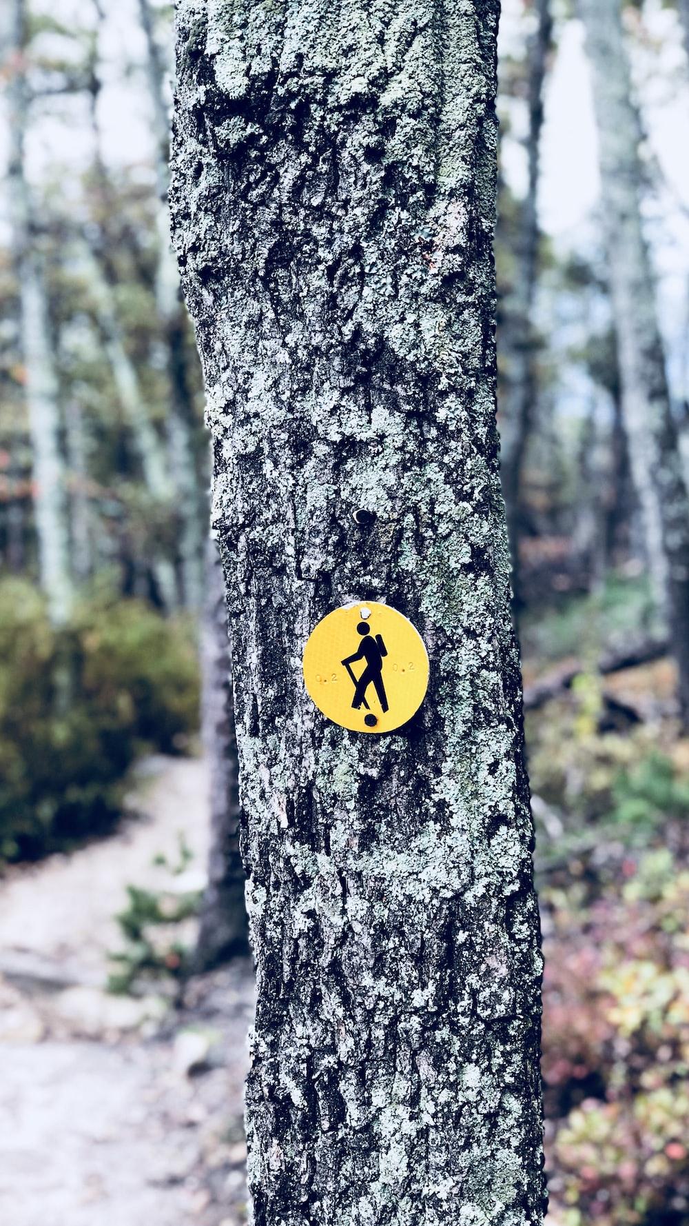 No trespassing signage