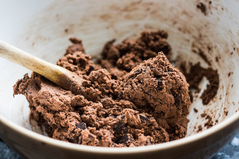 baked chocolate cookie
