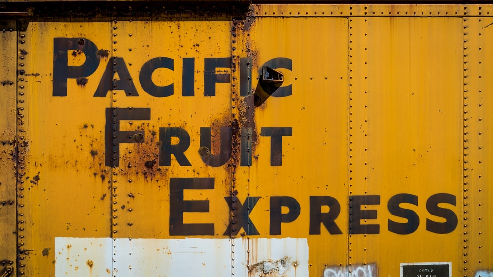Pacific Fruit Express label