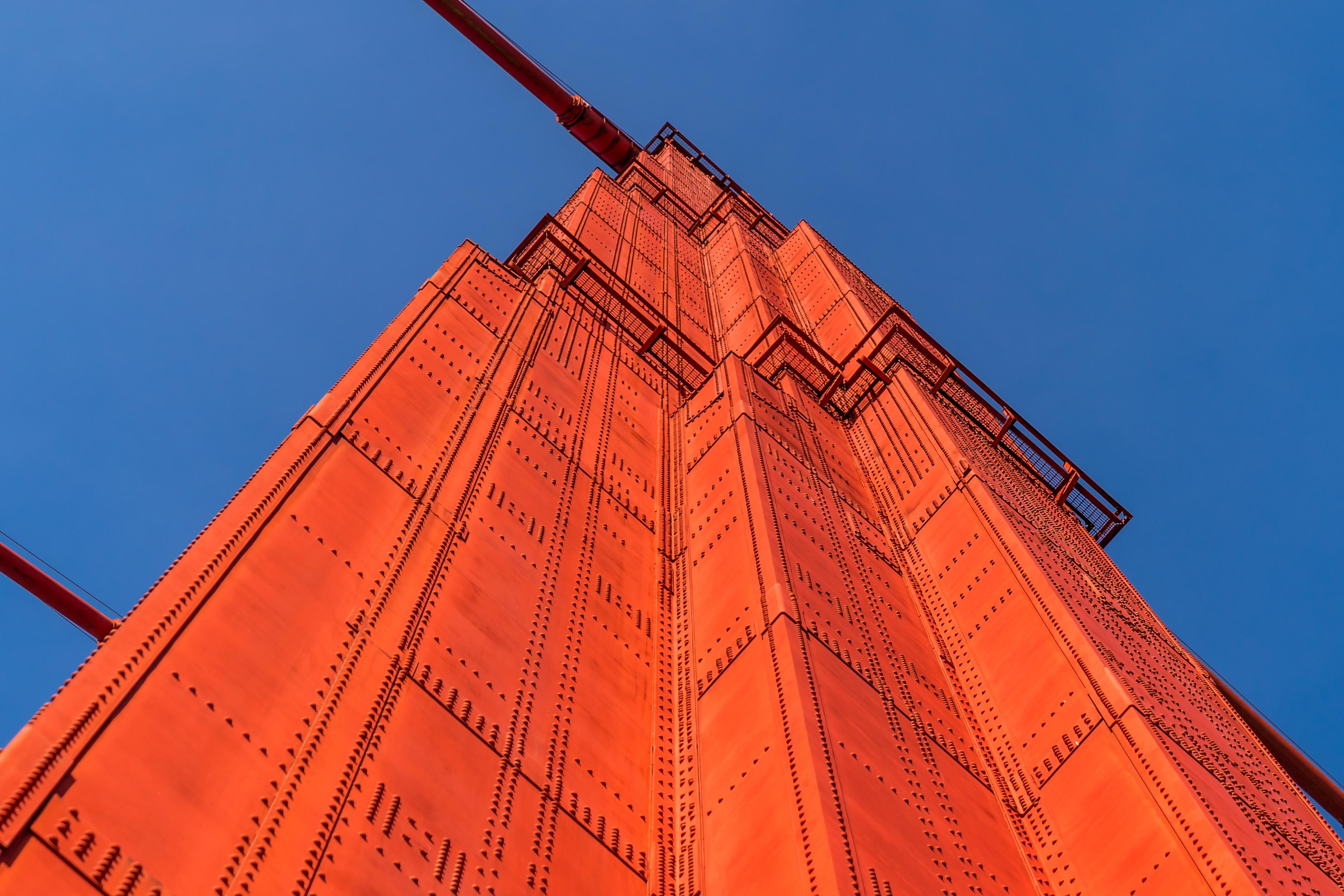 orange building low angle photography