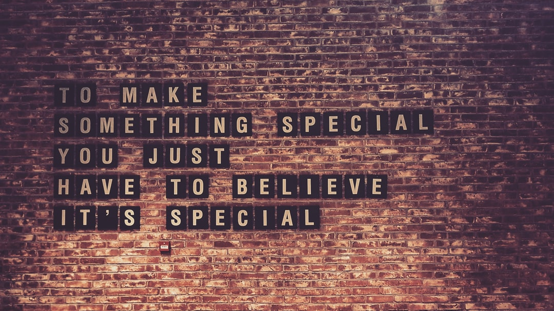 Make Things Special