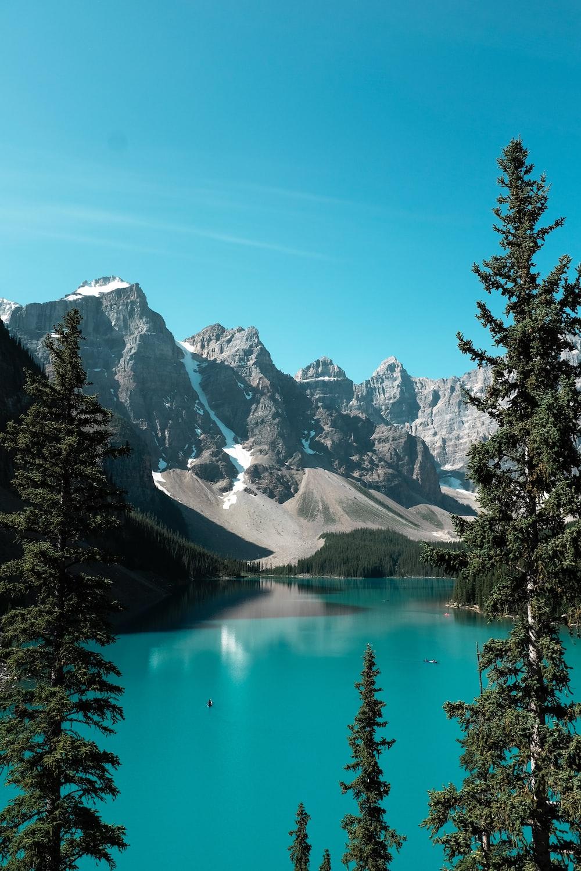 landscape photo of mountain near body of water