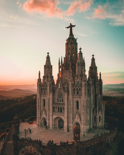 Tibidabo Church , Barcelona
