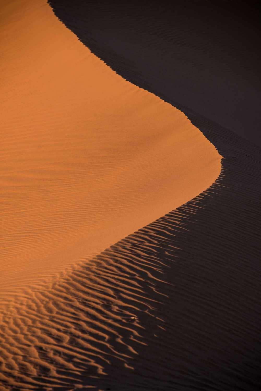 photo of sand dune
