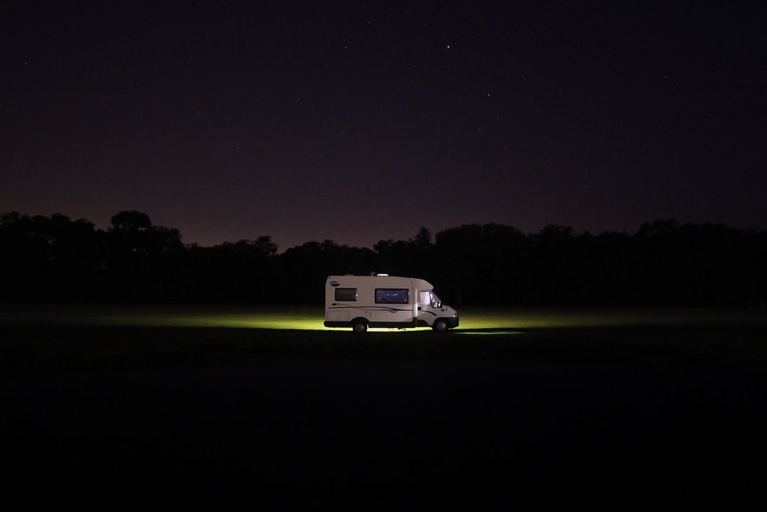 We were alone in a tent when a couple arrived in an RV (Camper Van).