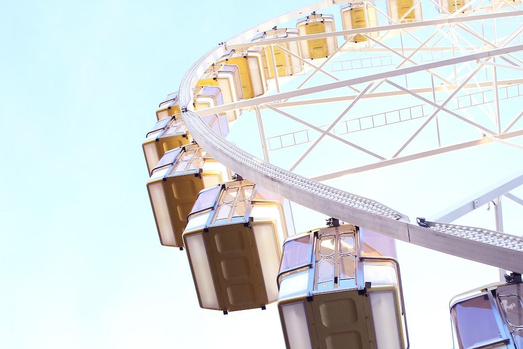 Amazing view on Budapest Ferris wheel