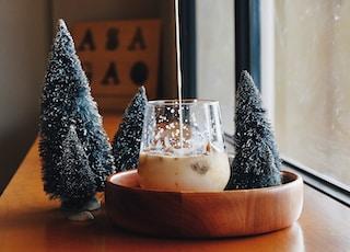 pine tree miniature decor