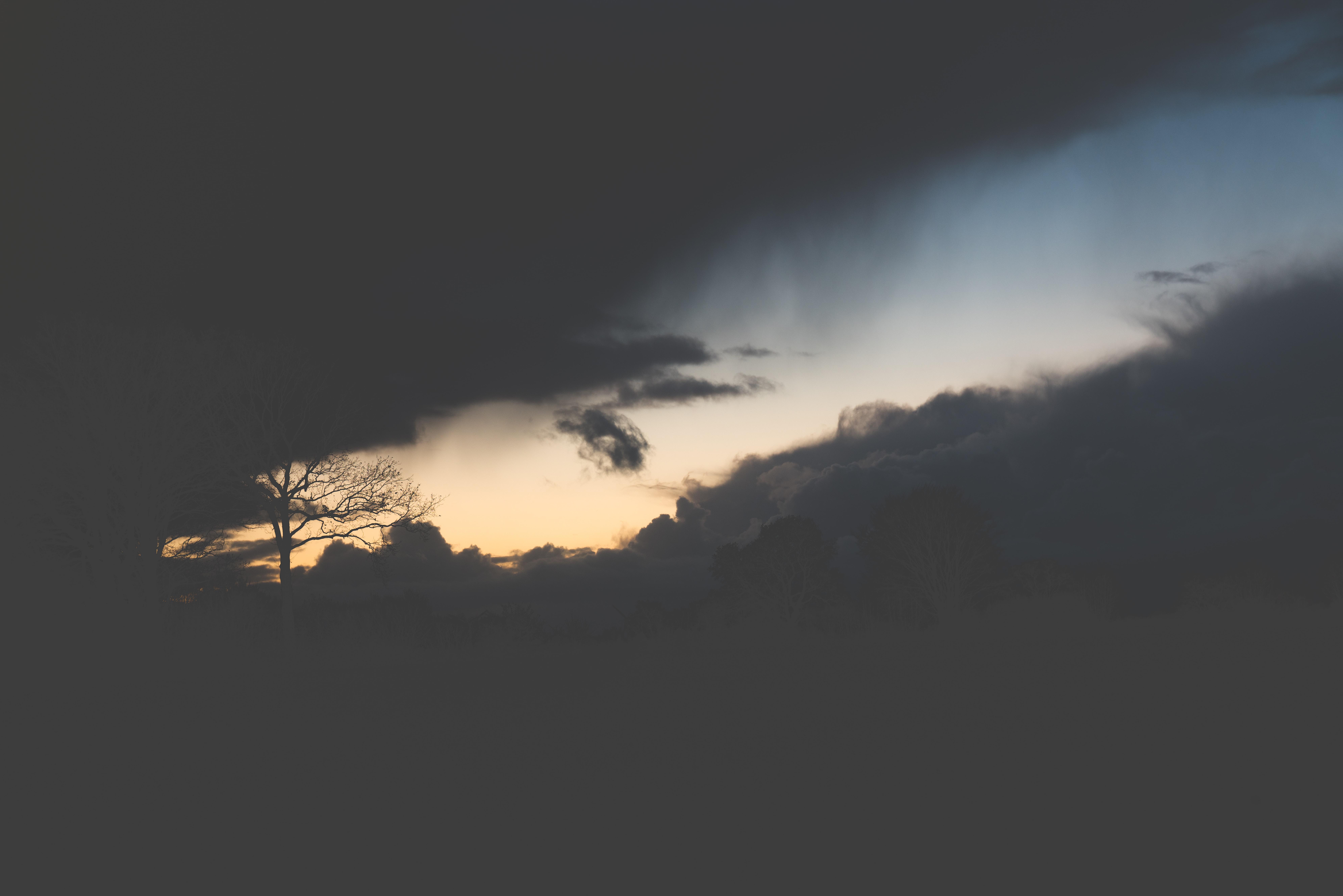 sunset scenery