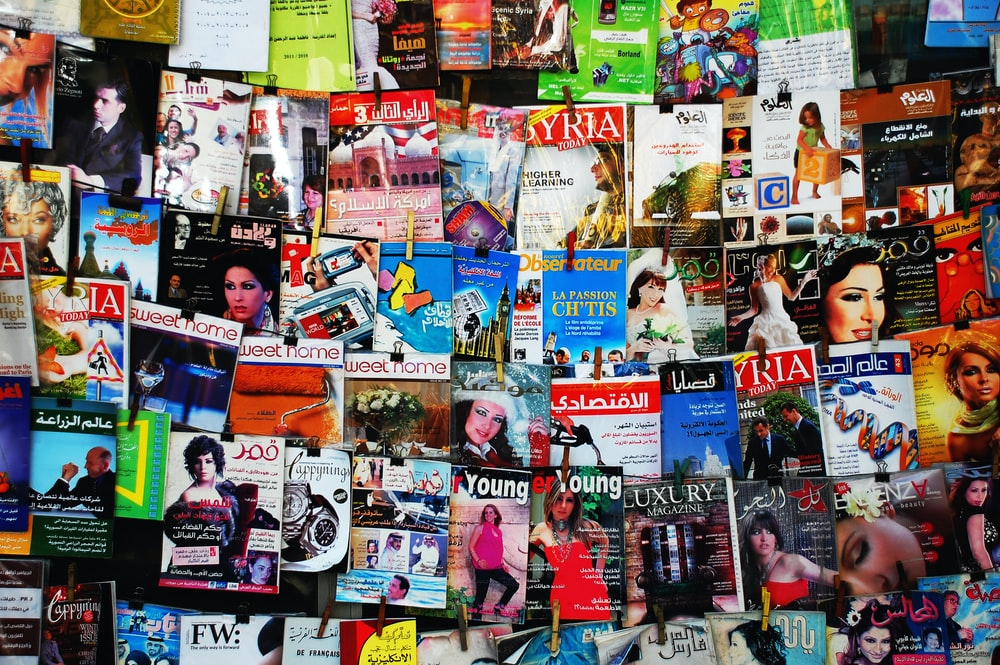 assorted magazine collection