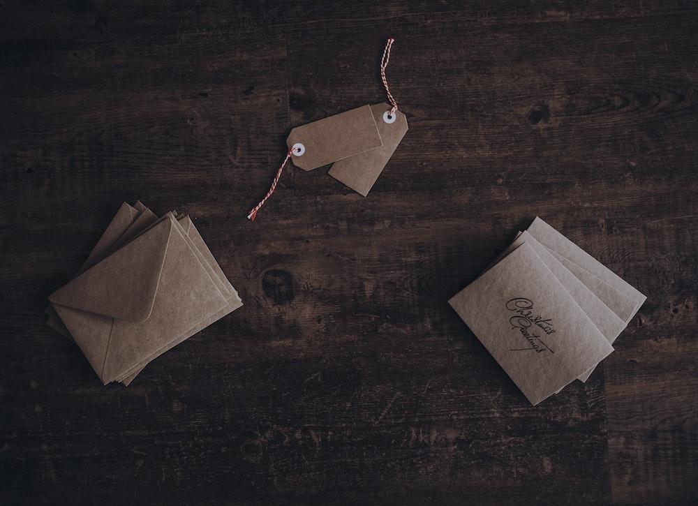 brown letter envelopes