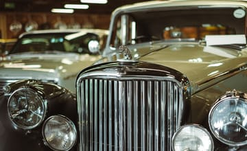 Using a classic car as security for a vehicle restoration business