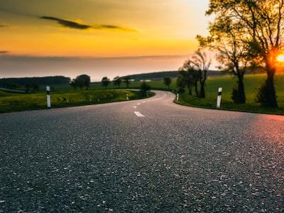 gray asphalt road during daytime czechia zoom background