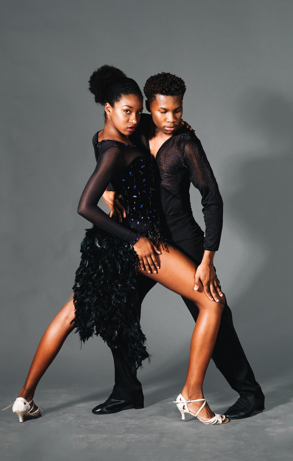 man and woman dancing photograph