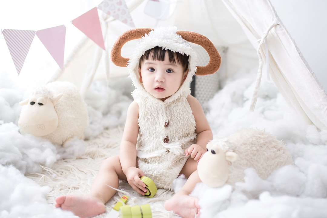 My baby, my Love, my Moon was one year old, my world becomes heavenly since she came!