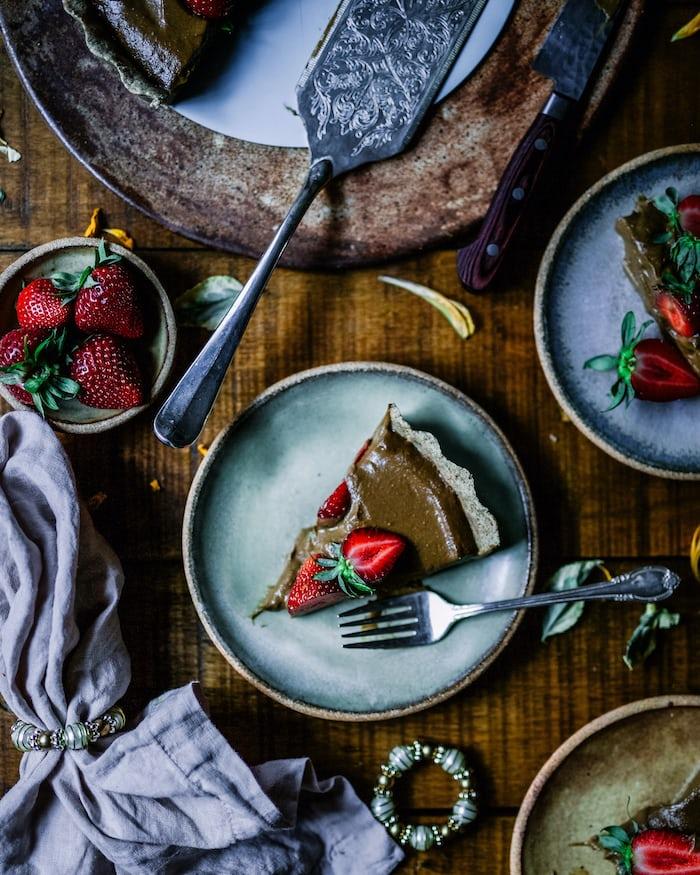 Rekomendasi Kue Valentine - Chocolate Tart