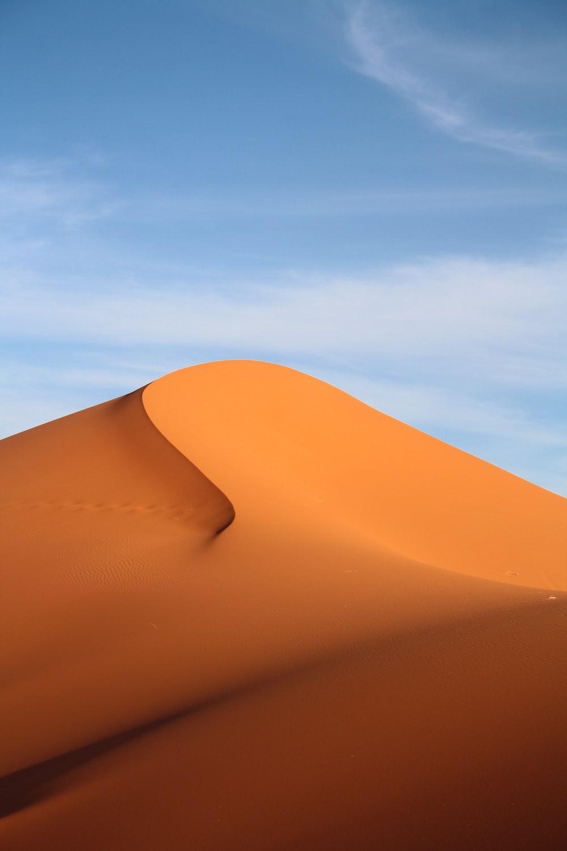 desert photography during daytime