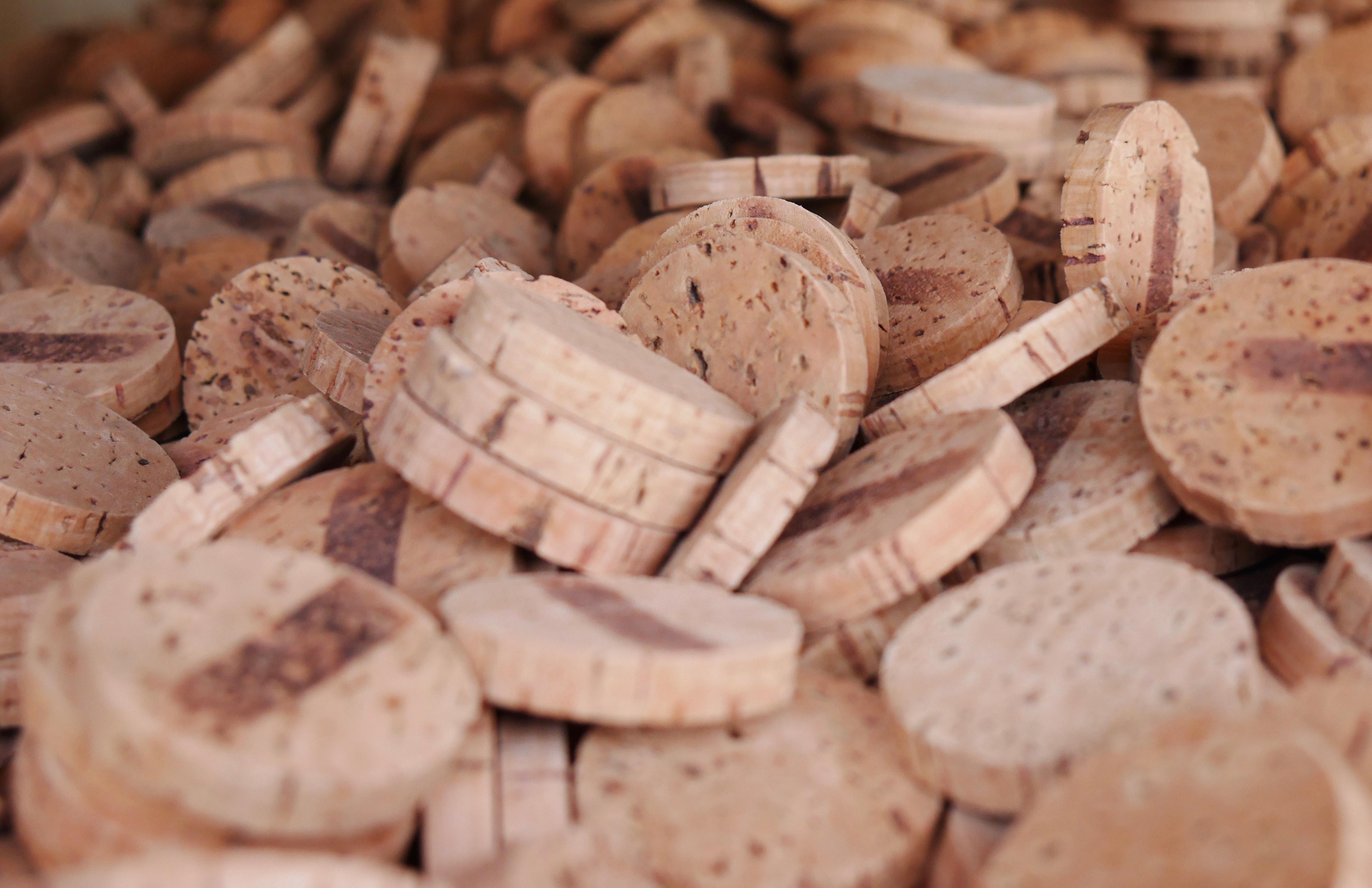 brown cork lot