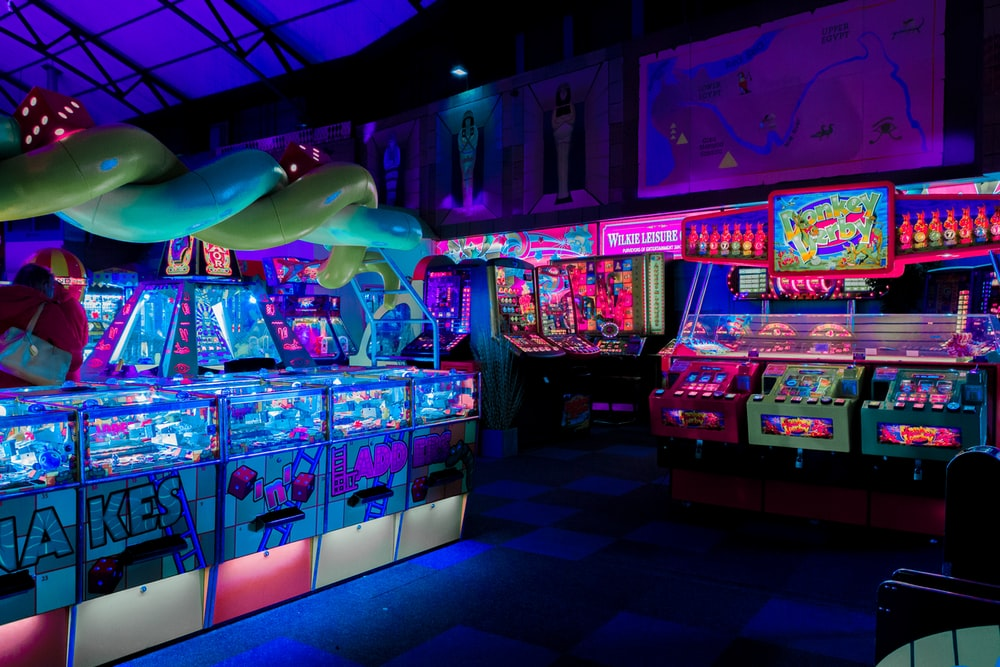 arcade game station