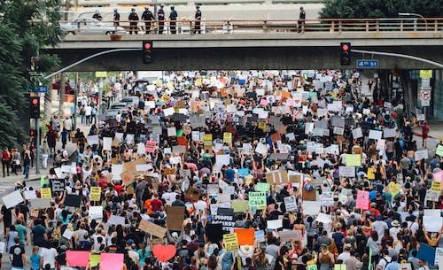 Los Angeles Protestors