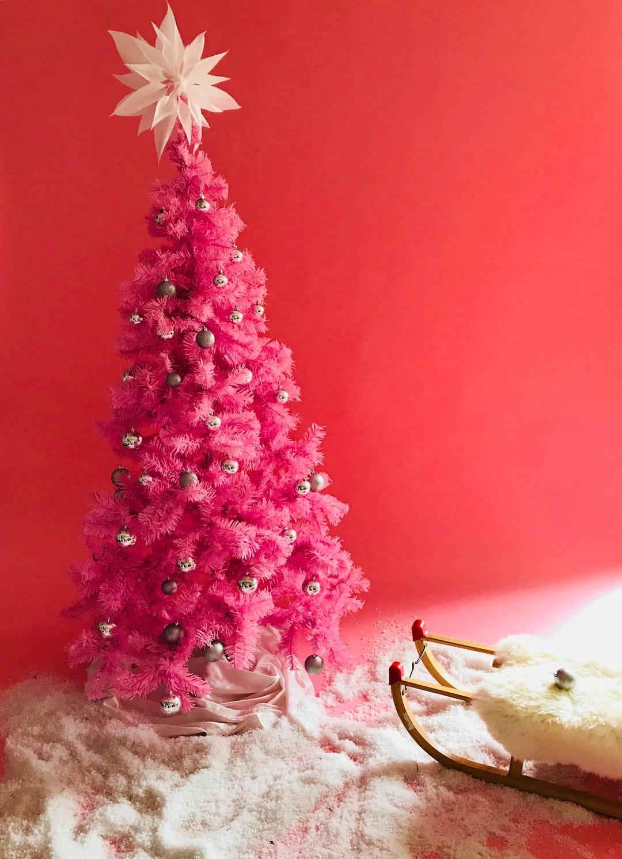 Happy pinky Christmas