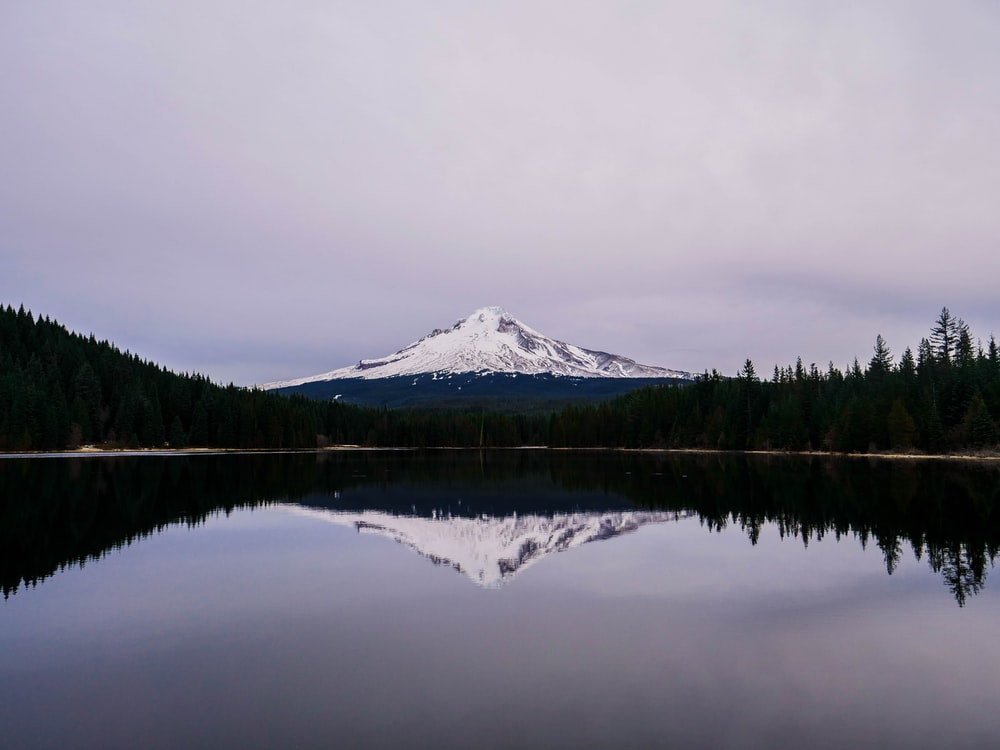 landscape photography of Mt. Fuji, Japan