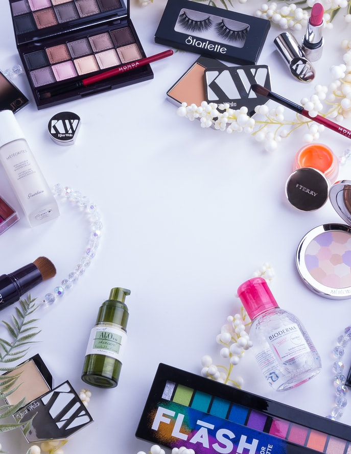 cosmetics and beauty products in DFC