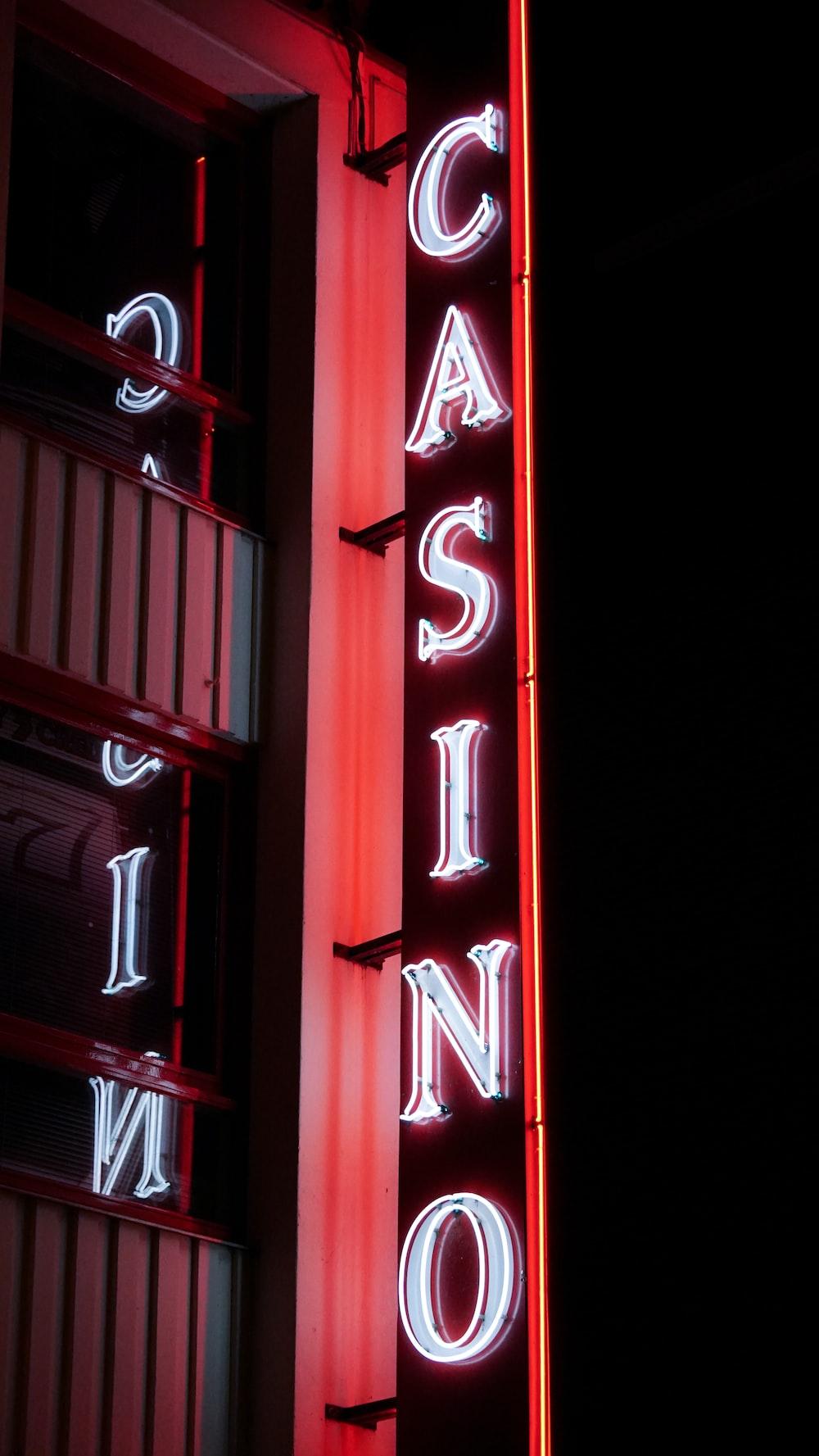 Casino LED signage