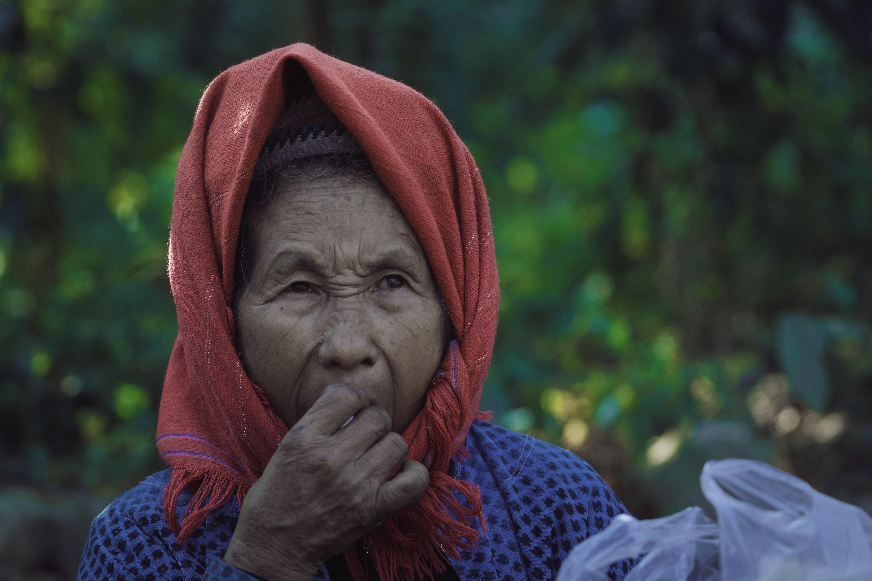 woman yawning during daytime