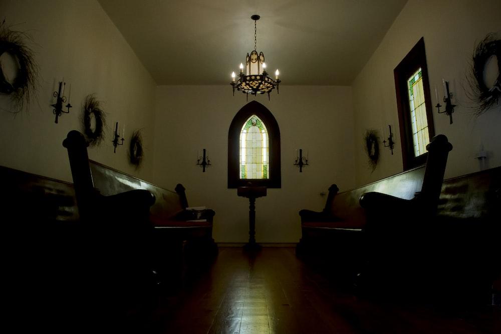 tables inside room