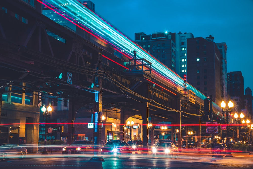 time lapse photography of streets