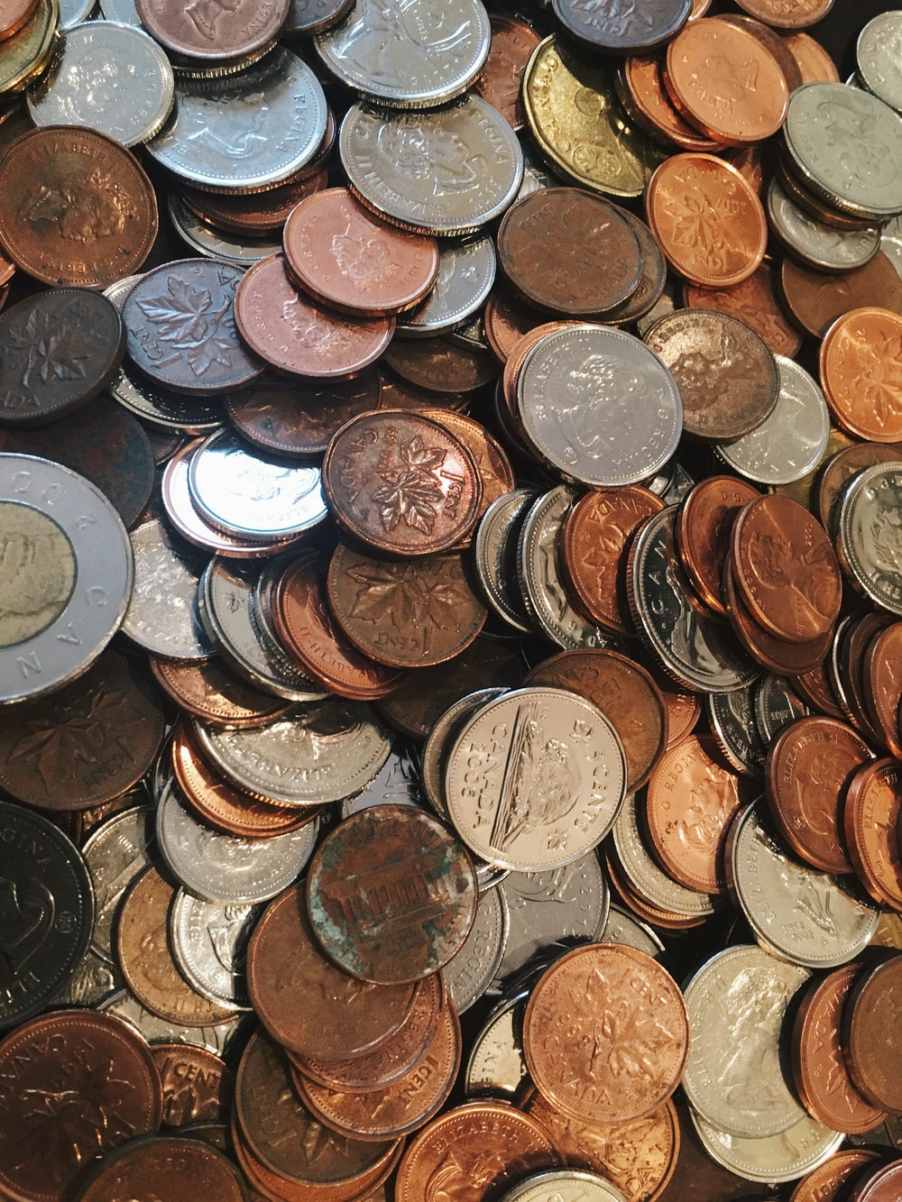 assorted coin lot