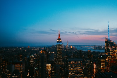 When on my trip to New York we made the trip up to the top of the Rocafella building, arriving at about 3pm. But in anticipation of a beautiful sunset, we waited 5 hours for the sun to go beyond the skyline. We watched the whole city light up. Truly a memorable experience I will never forget.