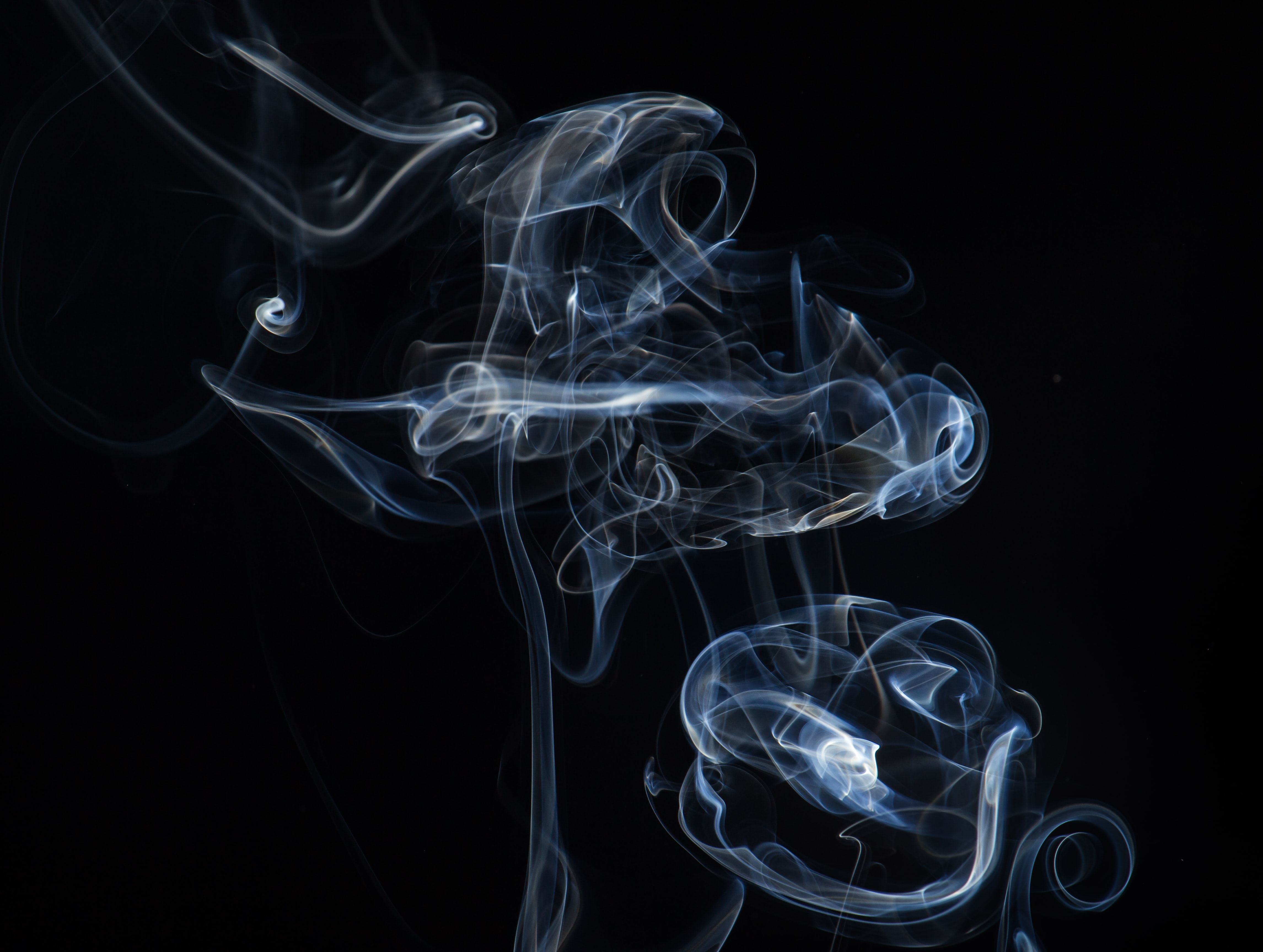 photography of smoke