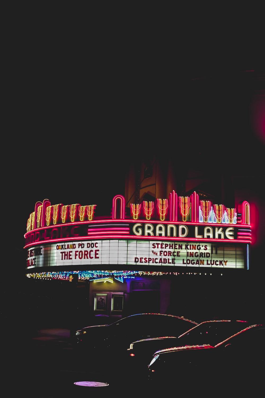 photo of Grand Lake signage