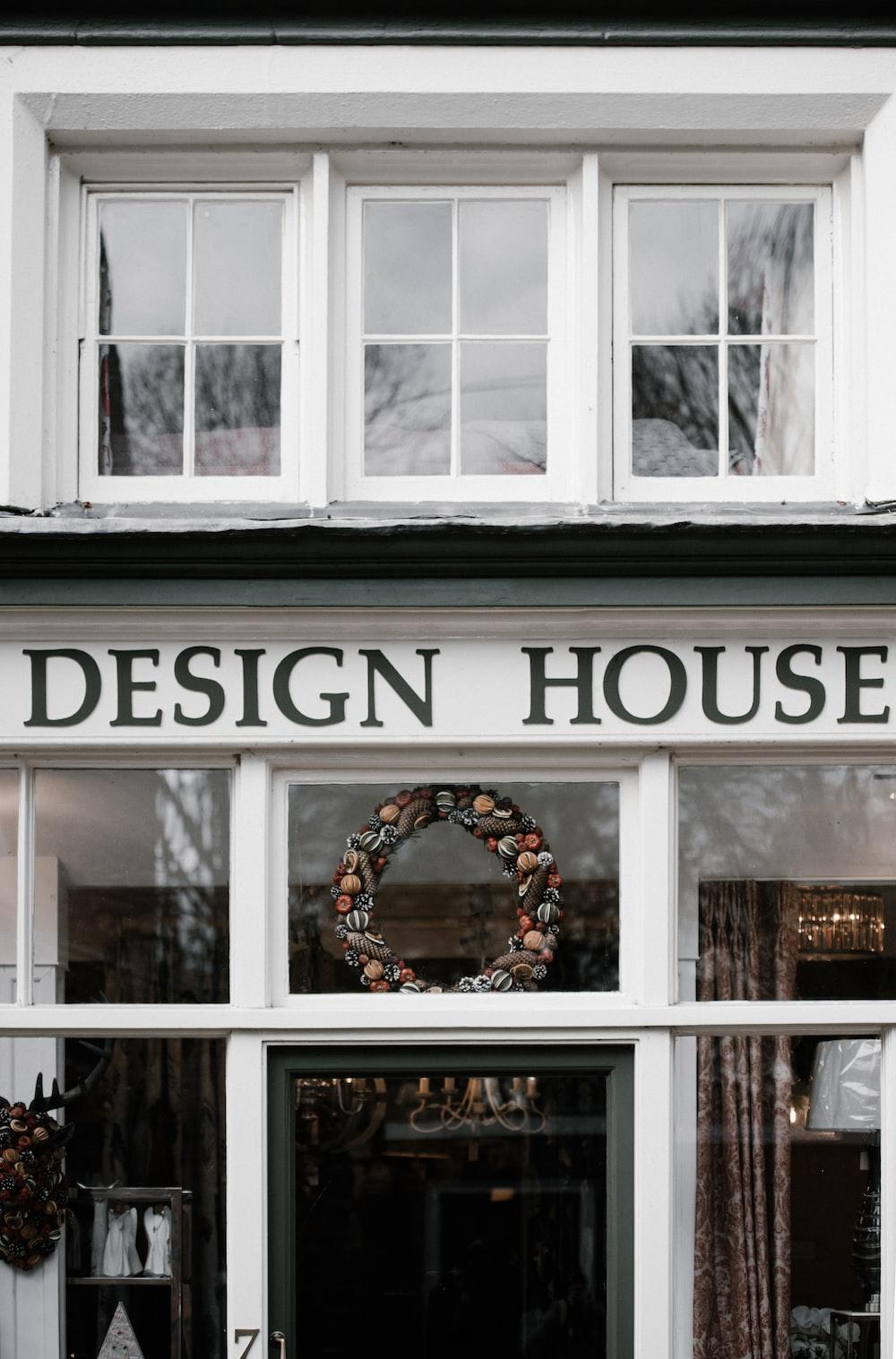 white Design House store
