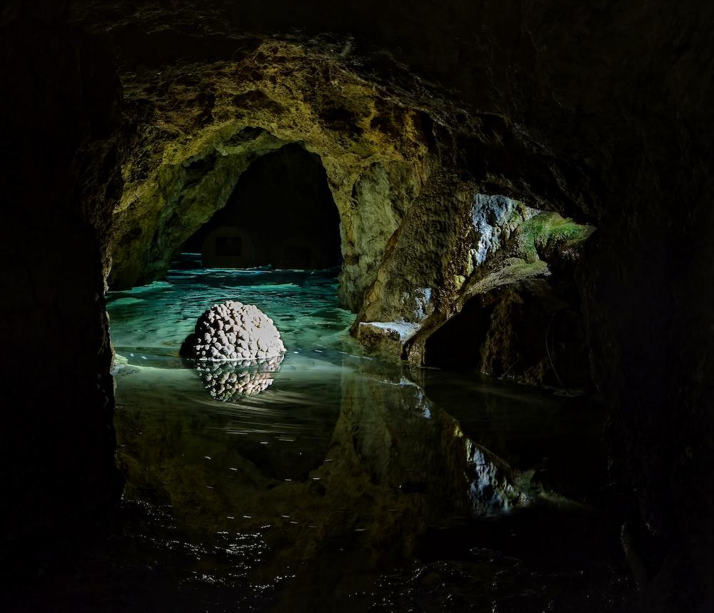 clear water underground river