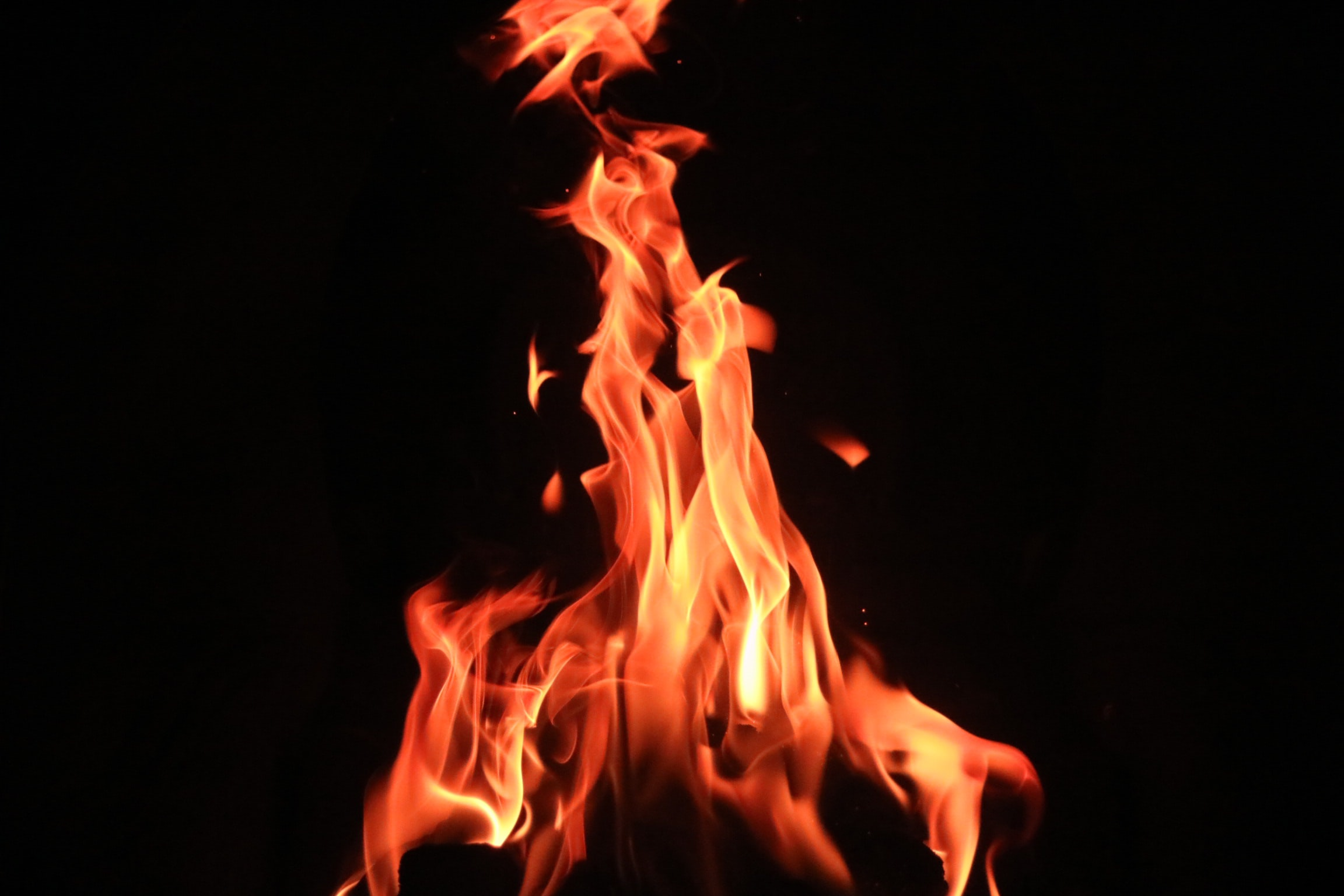 red and yellow fire