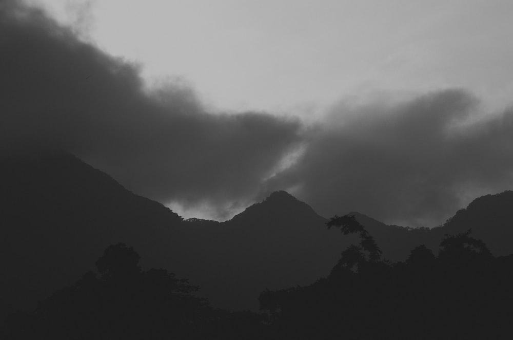 grey sky photography