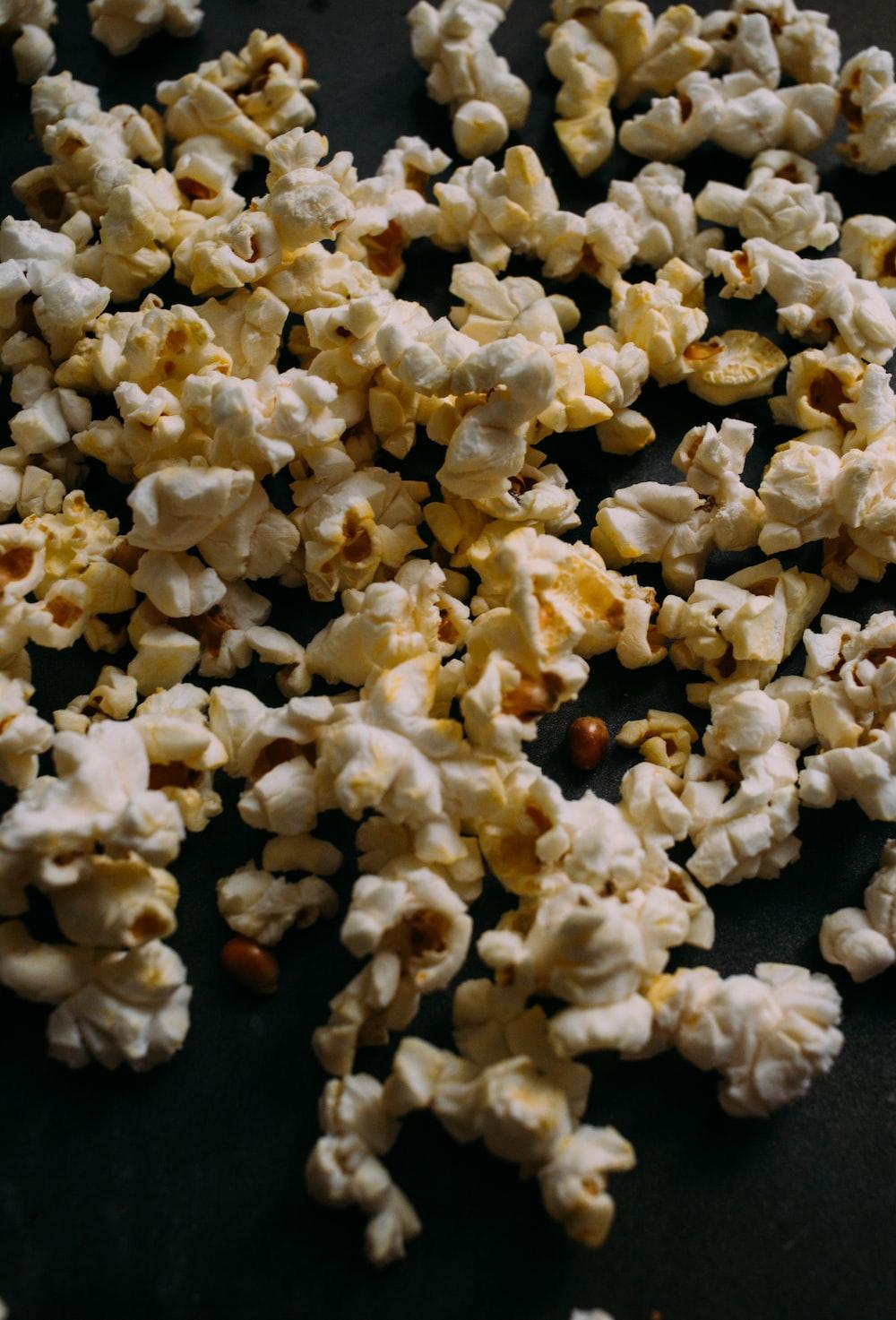 photo of popcorn