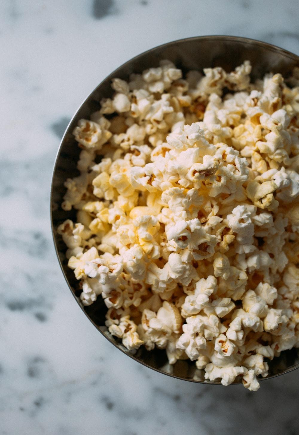 photo of popcorn kernels
