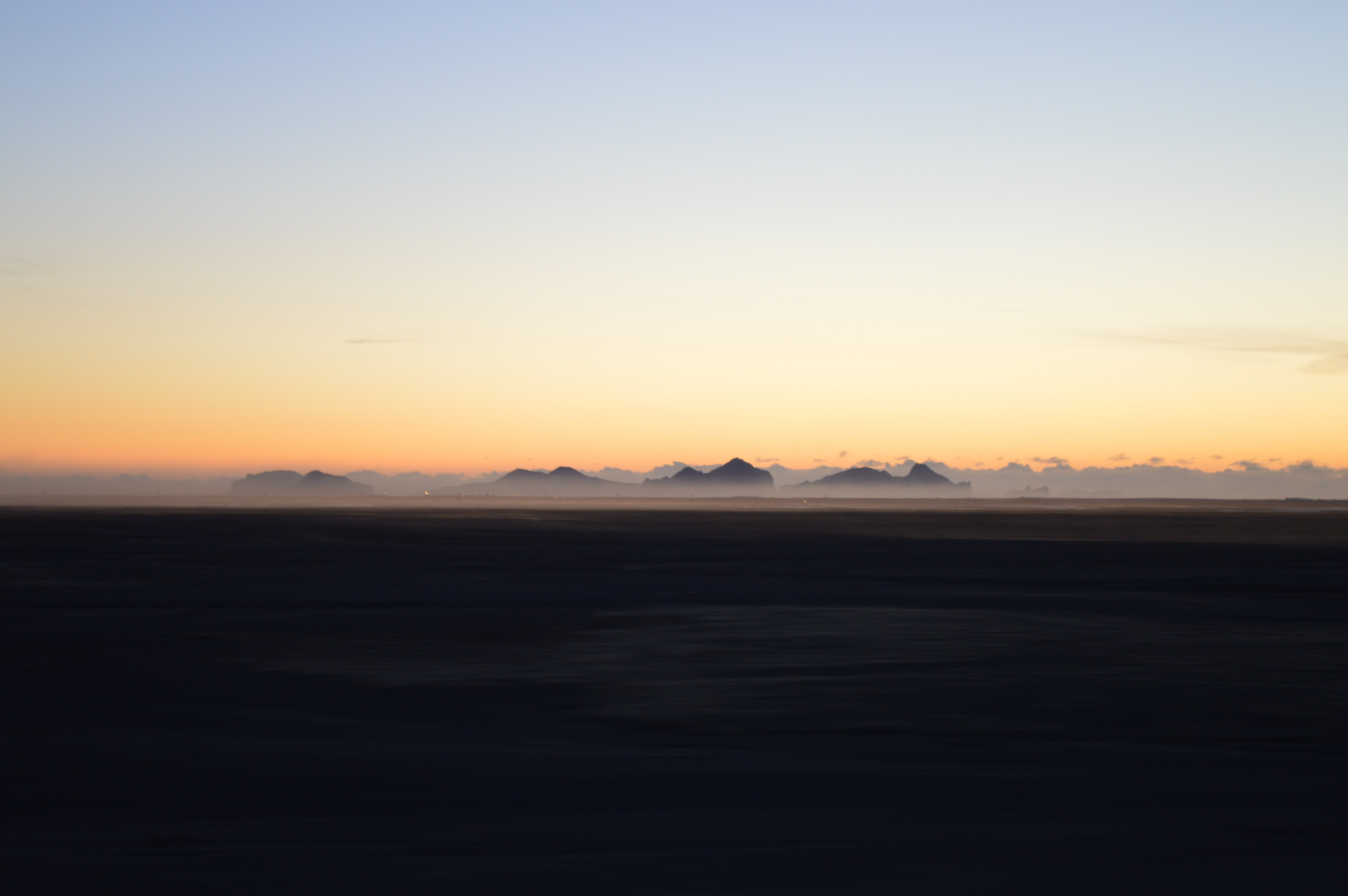 desert taken during golden hour