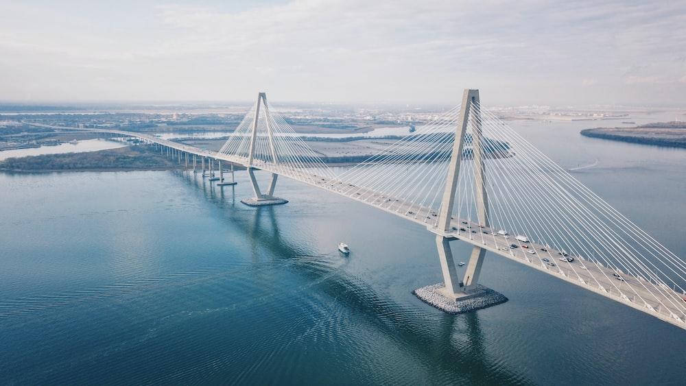 aerial photo of bridge during daytime