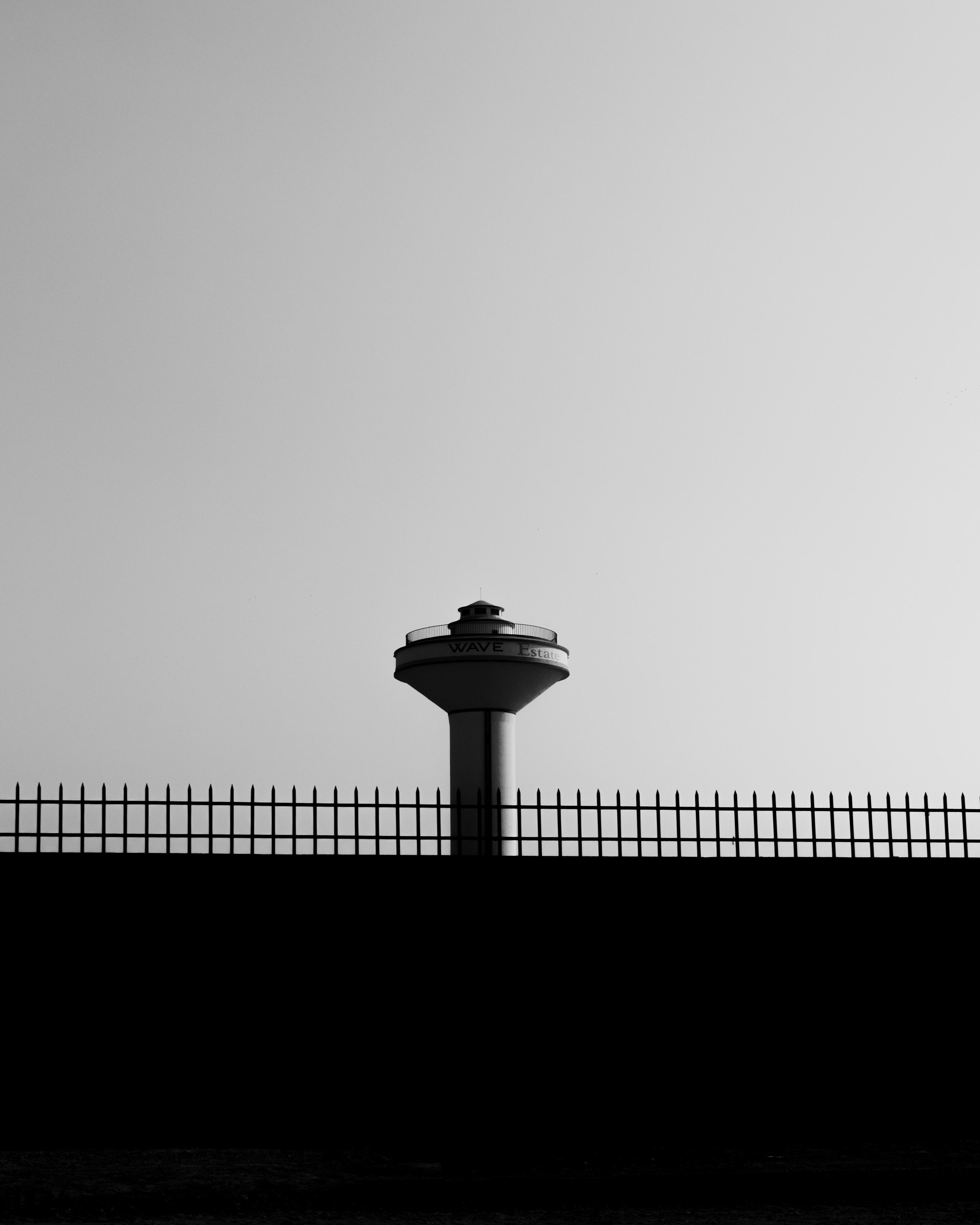 white tower under blue sky
