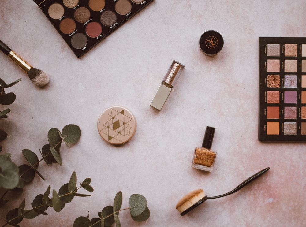 assorted makeup palette
